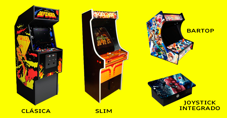 Tipos de recreativas arcades