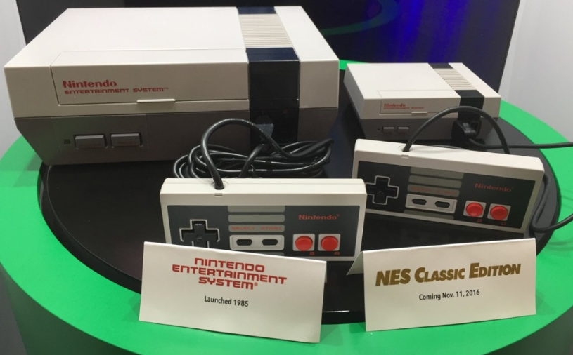 Comparativa Nes y Nes mini