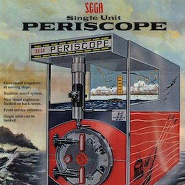 RETRO ARCADE Periscope SEGA