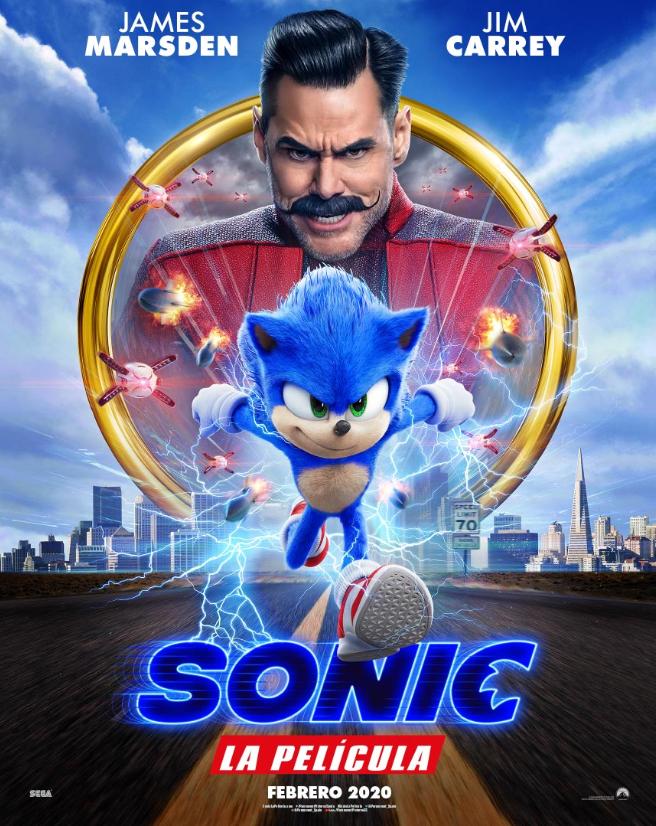 Sonic the Hedgehog la película