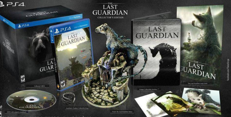 The Last Guardian ps4 edición coleccionista