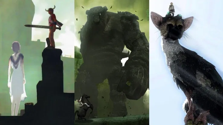 the last guardian ico shadow of the colossus