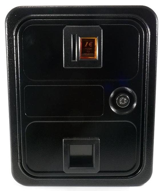 monedero arcade con caja de seguridad