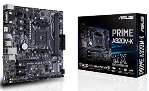 ASUS PRIME A320M-K - Placa Base AMD AM4