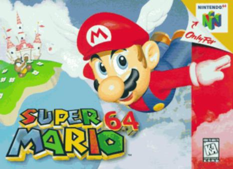 Super Mario 64 arcade retro