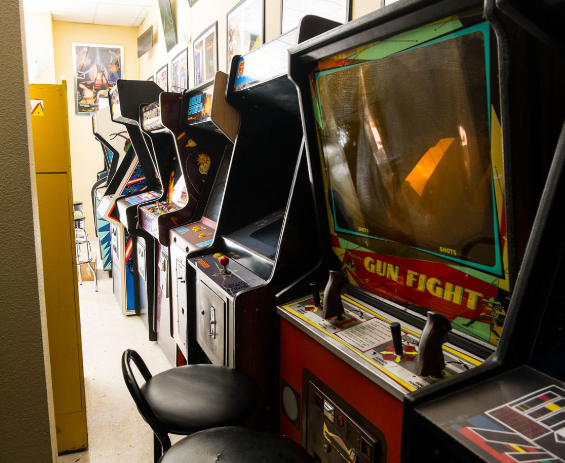 Monitor arcade antiguo