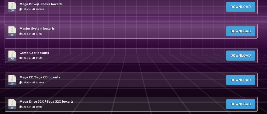 Tutorial Megadrive Mini imagen de carátulas